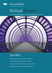 Fenwick Elliott annual review - 7 November 2014