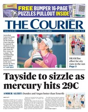 The Courier latest cover