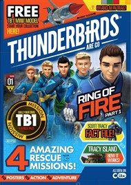 Thunderbirds Magazine latest cover