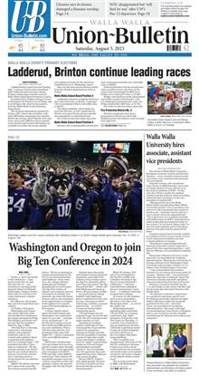 Today's Walla Walla Union-Bulletin digital replica