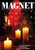 cover of December 2009 issue of Magnet magazine