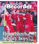 Romford Recorder Wrap