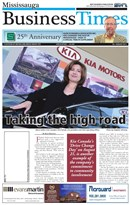Mississauga Business TImes August 2011