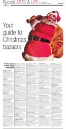 Christmas Bazaars 2015