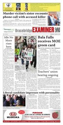 Bracebridge Examiner January 30 2013