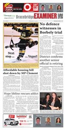 Bracebridge Examiner March 6 2013
