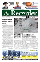 Tisdale Recorder 2018/01/10