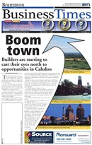Brampton Business Times September 2011