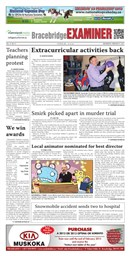Bracebridge Examiner -feb 27 2013