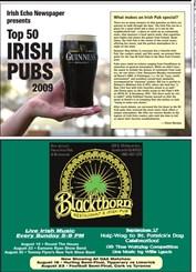 Top 50 Irish Pubs