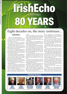 Irish Echo - 80 Years