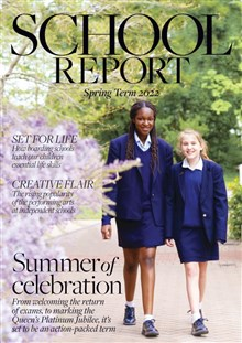 School Report Cover