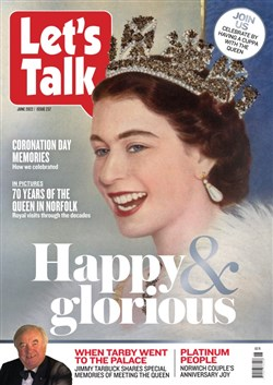 Latest Let's Talk magazine cover