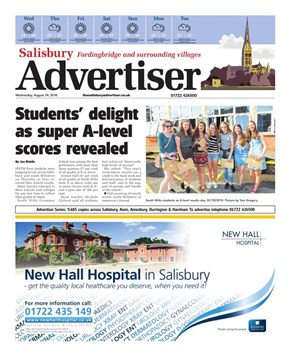 Read the Salisbury Advertiser