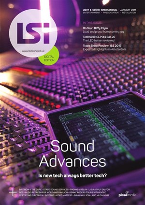 Light & Sound International - January 2017
