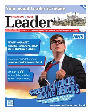 Read the Brighton & Hove Leader