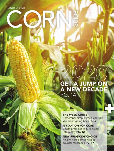 Corn Guide West — 2020-01-07