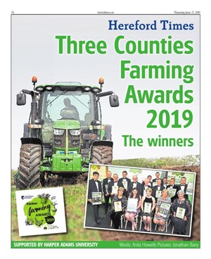 Three Counties Farming Awards 2019 - The finalists
