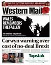 Western Mail 10/11/2018