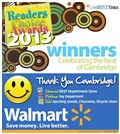 2013 Readers' Choice Winners