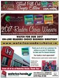 2017 Waterloo Readers' Choice Winners