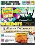 2013 Kitchener Readers' Choice Winners
