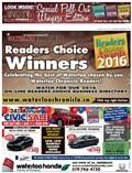 2016 Waterloo Readers' Choice Winners