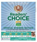 Readers Choice Winners 2017