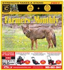 Farmers Monthly August