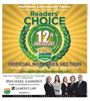 Readers Choice Nominees