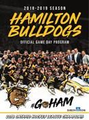 Hamilton Bulldogs 2018_19 program 1