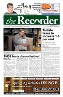 Tisdale Recorder 2018/03/21