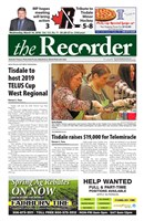 Tisdale Recorder 2018/03/14