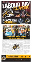 Tiger Cats August 31 2019