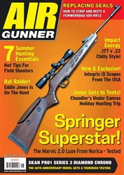 Latest issue of Air Gunner magazine