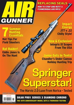 Air Gunner magazine cover