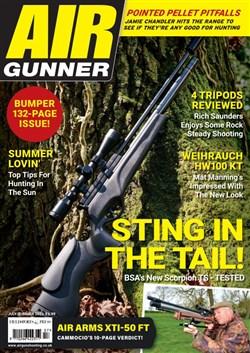 Air Gunner magazine cover