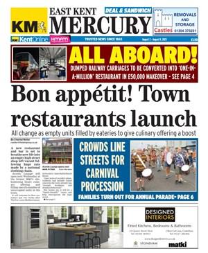 East Kent Mercury paper