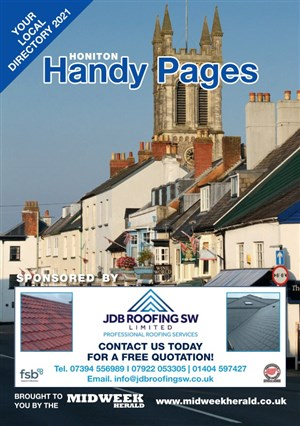 Honiton Handy Pages Cover
