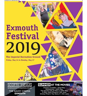 Exmouth Festival Cover