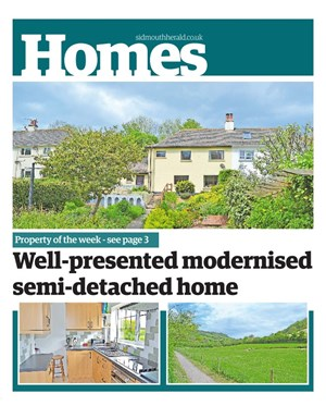 Sidmouth Herald: Property Cover