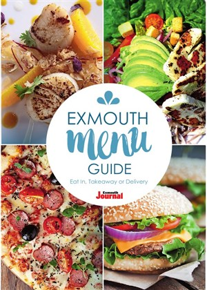 Exmouth Menu Guide Cover