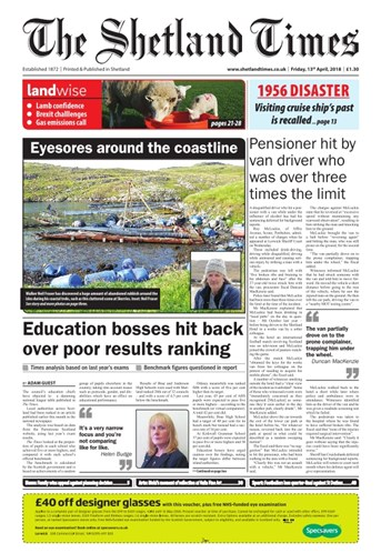 Try, buy and subscribe to the full digital edition of The Shetland Times