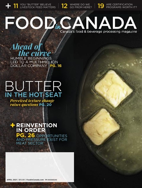 Food in Canada — 2021-04-01