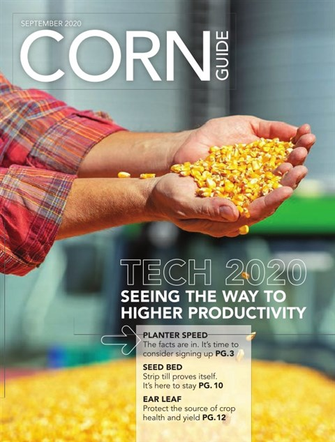 Corn Guide West — 2020-09-01