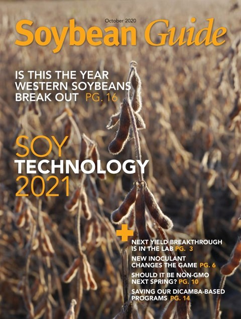 Soybean Guide East — 2020-10-06