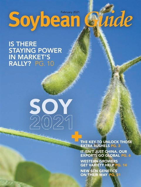 Soybean Guide East — 2021-02-16