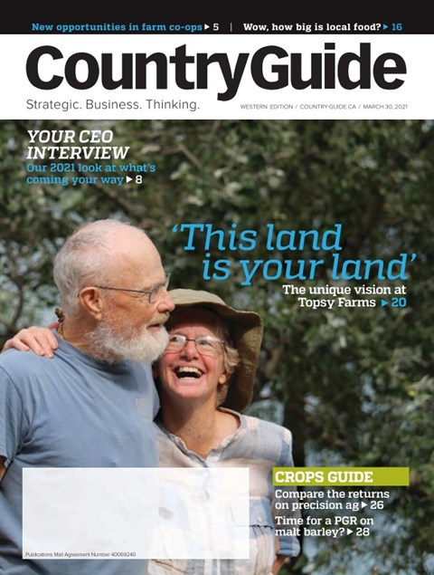 Country Guide West — 2021-03-30