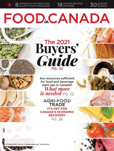 Food in Canada — 2020-10-02