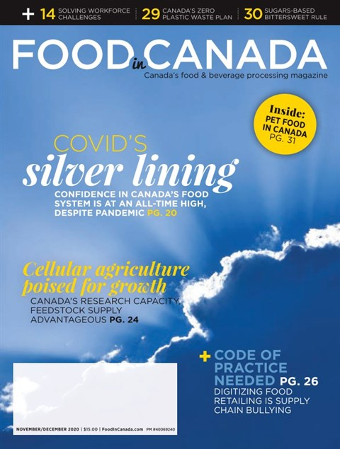 Food in Canada — 2020-11-30